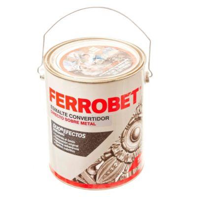 Esmalte convertidor ferrobet duo forjado plata 4 l