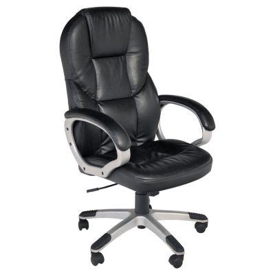 Silla de oficina gerencial negra