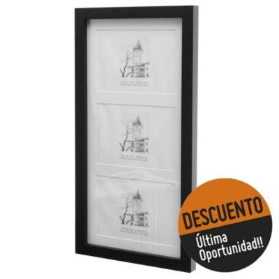 Portaretrato md 13 x 18 x 3 cm negro