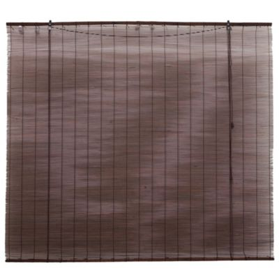 Cortina enrollable de bambu ms 150 x 130 cm