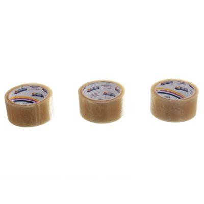 Pack 3 cintas transparente 48 mm x 50 m