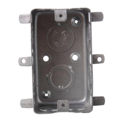 Caja de hierro rectangular construcción en seco 5 x 10 cm