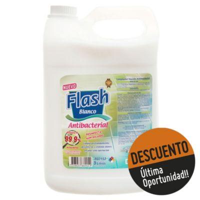 Limpiador líquido blanco antibacterial