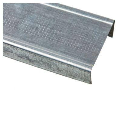 Tira solera de acero galvanizado 2.60 mts