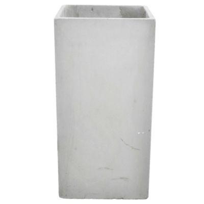 Maceta prisma fibrocemento 30 x 30 x 60 cm