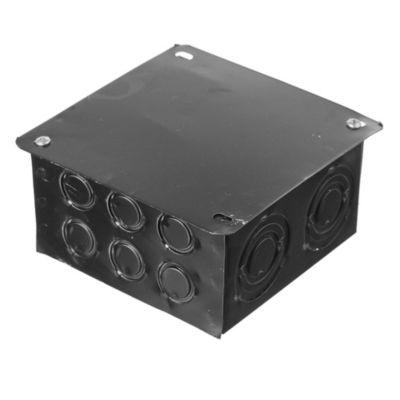 Caja pase de hierro 15 x 15 x 8 cm