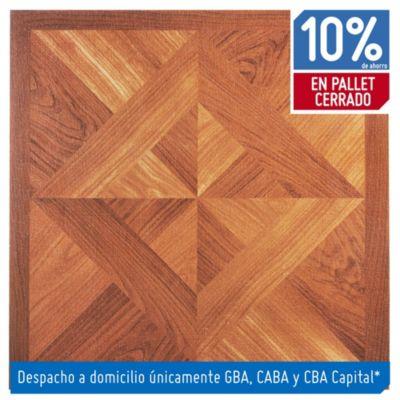 Baldosa autoadhesiva 30 x 30 cm imitacin madera tropical 419 m