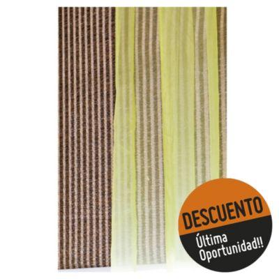 Cortina enrollable yute ancha 150 x 200 cm natural
