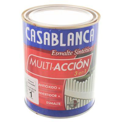 Esmalte classic multiacción blanco satinado 1 l