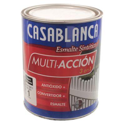 Esmalte classic multiacción negro satinado 1 l