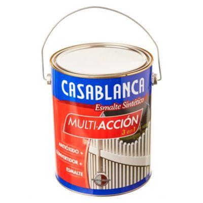 Esmalte classic multiacción blanco mate 4 l