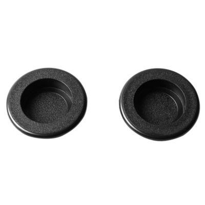 Cubeta redonda para mecha 35 mm negro