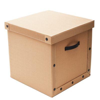 Caja onda vista cubo 35 x 35 x 35 cm