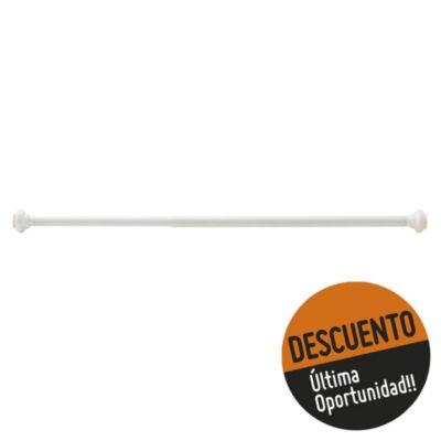 Barral extensible para baño Deluxe 80/130 cm