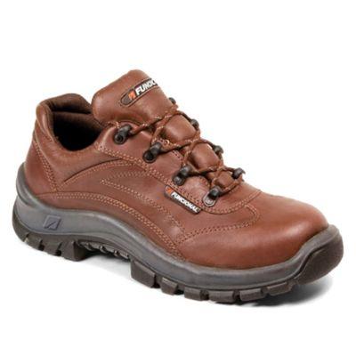Zapato de seguridad niza marrón