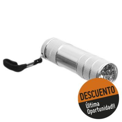 Linterna aluminio 9 LED´s