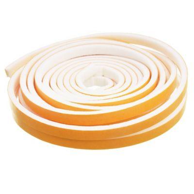 Burlete adhesivo standart 6 m blanco