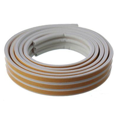 Burlete P Caucho 6 x 9 mm blanco 6 m