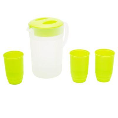 Jarra 2.25 l + 4 vasos