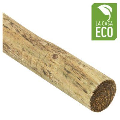 Madera para deck poste de pino impregnado 7 cm ...