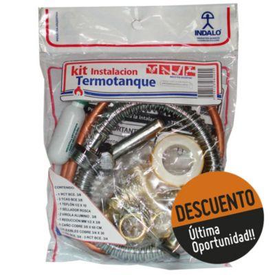 Kit de instalación para termotanque
