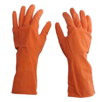 Guante naranja talle mediano