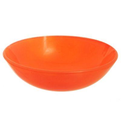 Bacha de vidrio naranja