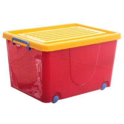 Caja Organizadora con Ruedas 62 l
