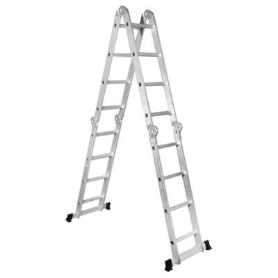 Escalera de aluminio 16 escalones multiprop sito sodimac for Precio de escalera extensible de aluminio