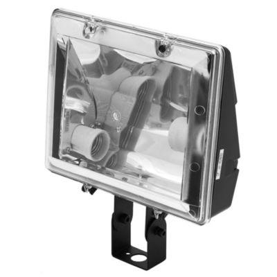 Proyector de exterior para lámpara de bajo consumo 2 x 26 w