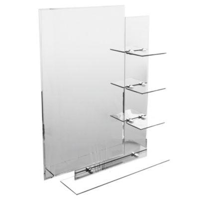 Espejo con marco de vidrio