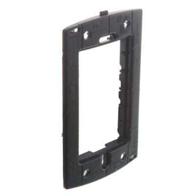 Bastidor rectangular negro para cajas de 5 x 10 cm