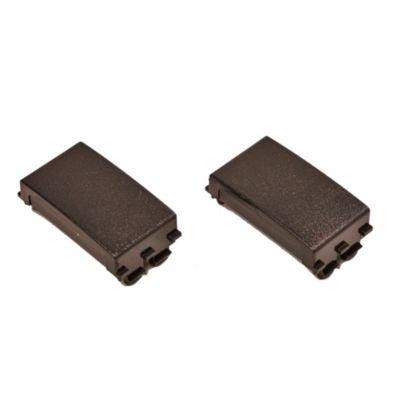 Pack de 2 módulos ciegos negro