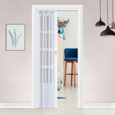 Puerta plegable lugano blanca 70 x 200 cm derec...