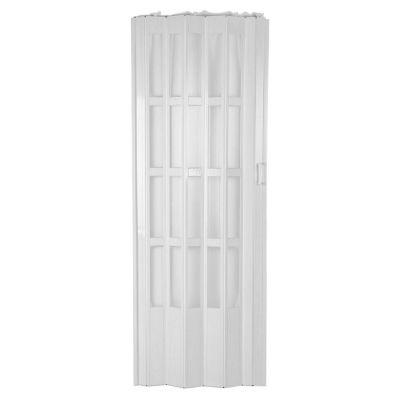 Puerta plegable lugano blanca 120 x 200 cm dere...