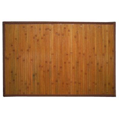 Alfombra de bambú 60 x 90 cm