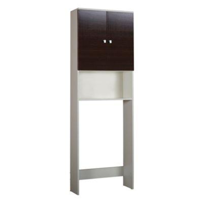 Mueble sobre inodoro wengue
