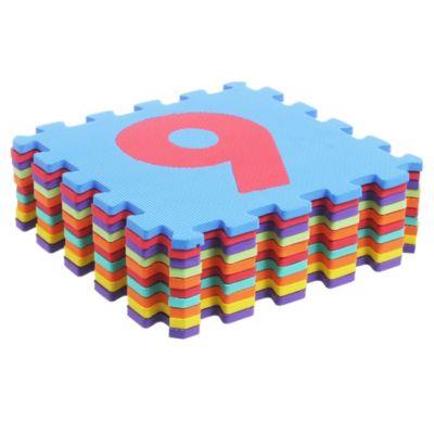 Alfombra infantil de goma eva rompecabezas 10 piezas