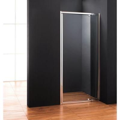 Mampara para ducha al piso ajustable de 80 a 100 x 185 cm