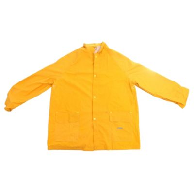 Traje lluvia amarillo jardínero