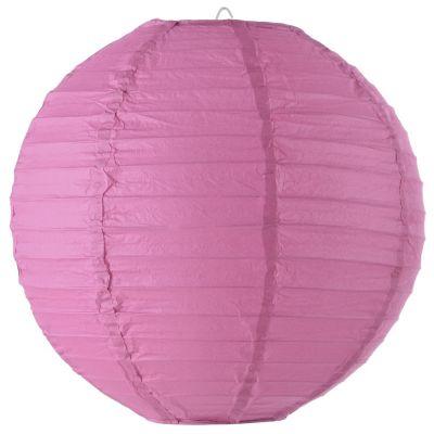 Pantalla globo pape rosa 30 cm