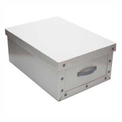 Caja blanca mediana 50 x 35 x 20 cm