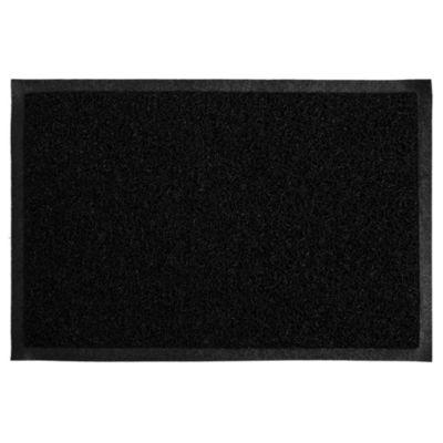 Felpudo confortmat negro y gris 40 x 60 cm