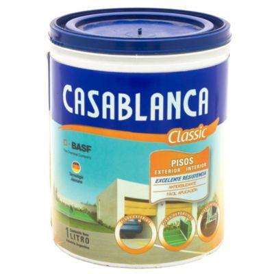 Pintura para pisos classic blanco 1 l