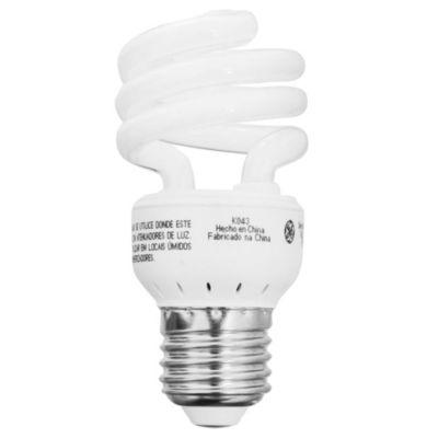 Lámpara bajo consumo helicoidal 19 w fría e27