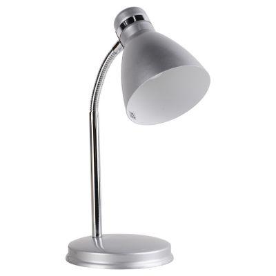 Lámpara de Escritorio una luz con base Silver E27