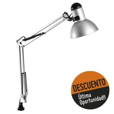 Lámpara para Tablero de Dibujo una luz Pinza aluminio E27