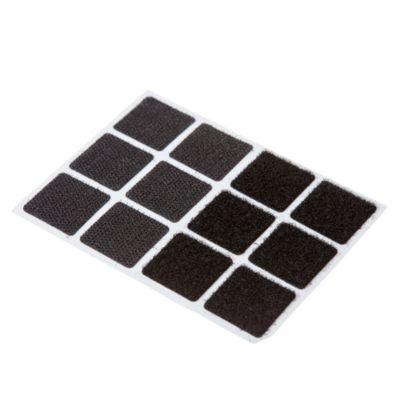 Abrojo 25 x 25 mm negro 12 u