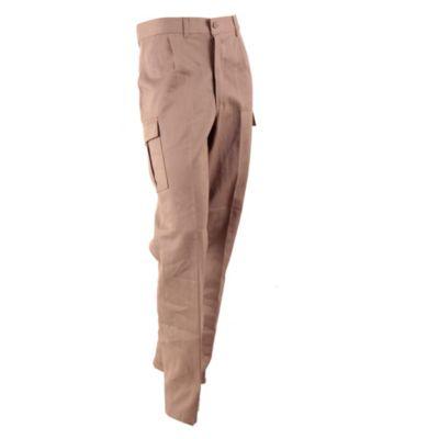 Pantalón cargo beige