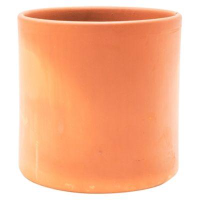 Maceta cilindro terracota n°22